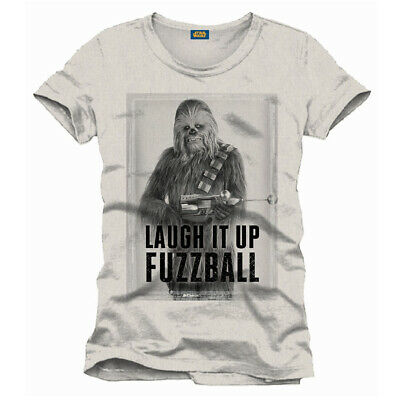 Star Wars Wookiee T Shirt Chewbacca Laugh It Up Fuzzball Eur 21