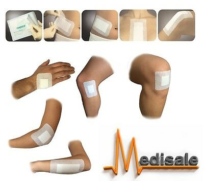 Adhesive Wound Dressing Big Plasters First Aid Cuts Burns Sterile Pad Adult,Kids