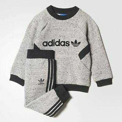 ADIDAS ORIGINALS Infant's Trefoil French Terry Jog Suit