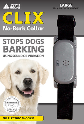 Clix No-Bark Collar Training FREE UK POSTAGE