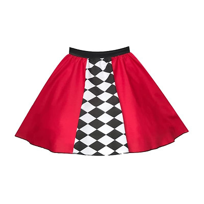 """Girls Shut Up And Drive RACE CAR Dance Costume FancyDress Party Skirt 12"""" length"""