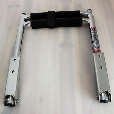2 Step Telescoping Ladder Stainless Steel Ladder for Marine Boat Upper Platform