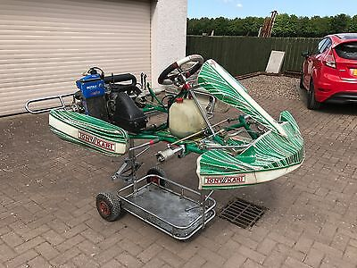 Tony Kart Chassis with Senior Rotax Max Engine