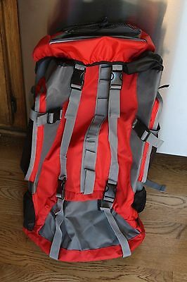 New Red Outdoor Backpack Rucksack Hiking Camping Travel shoulders bag 27x14x9