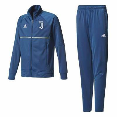 adidas Juventus Training Presentation Tracksuit 2017/18 - Dark Blue - Kids