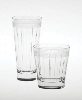 """Wedgwood """"Dynasty"""" Double Old Fashioned Glass. Free Shipping"""