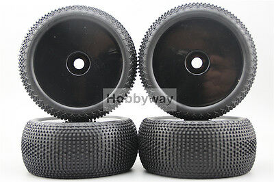 4pcs 1/8 Truggy Wheels&Tire Set Tyre For HPI Traxxas 1/8 Tires 26404