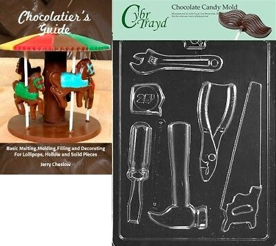 (+Chocolatier Bk) - Cybrtrayd Bk-D102 Tools New Dads and Moms Chocolate Candy