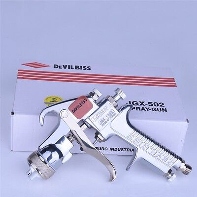 Devilbiss JGX-502 Spray gun Gravity Type Up Pot for Paint Car or Furniture