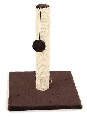 Kitten Scratching Post Small Cat Scratcher Toy Sisal Pole Climbing Activity