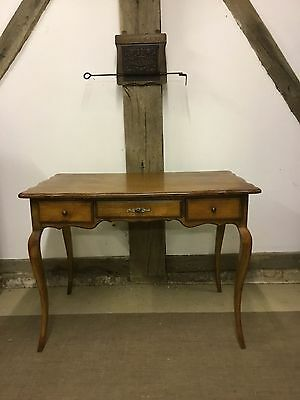 French Louis xv Style Vintage Oak Desk - FREE DELIVERY!!