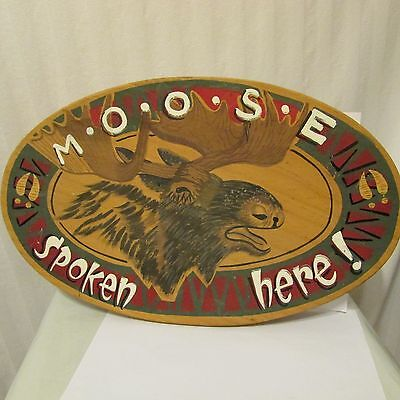 Loyal Order of Moose Wall Hanging Jon Q. Wright     Not Official LOM Item