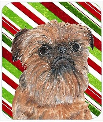 (Candy Cane) - Caroline's Treasures SC9614LCB Brussels Griffon Candy Cane