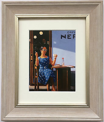 The Ice Maiden by Jack Vettriano Framed & Mounted Art Print Grey