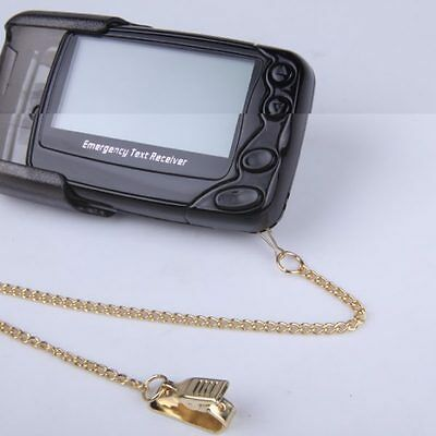 W09N Secomms Pager Spare Gold Chain