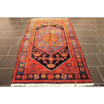 alter handgekn pft orient perser teppich hamedan malaya old rug carpet 230x126cm eur 61 00. Black Bedroom Furniture Sets. Home Design Ideas