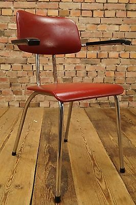 60er Lounge Chair Space-Age Loft Clubhouse Armchair Steel Pipe 60s Barber Chair