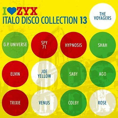 VARIOUS ARTISTS - ZYX Italo Disco Collection 13 - CD ** Brand New **