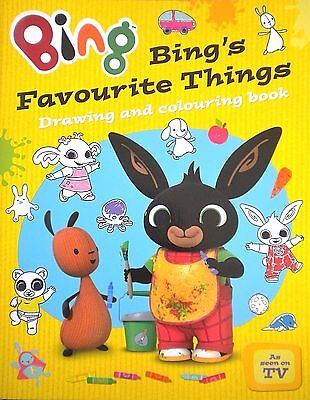 Bing's Favourite Things Drawing and Colouring Book new age 2+