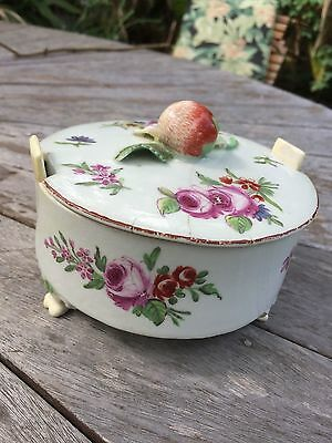 1750/1760s Chelsea Derby butter dish