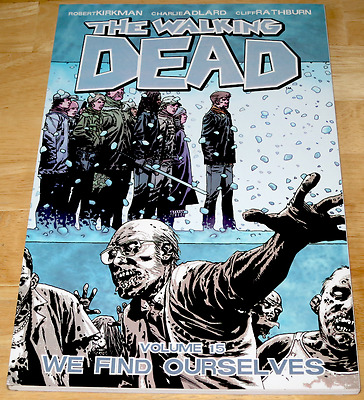 Kirkman THE WALKING DEAD VOLUME 15 Adlard IMAGE Graphic Novel U.S. ED Horror