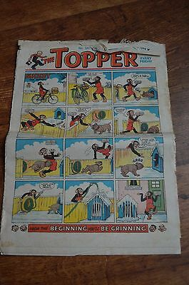 The Topper Comic No 267  MARCH 15TH 1958