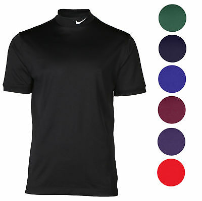 Nike Men's Tech UV Mock Neck Dri-Fit Short Sleeve Shirt