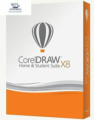 CorelDRAW Home Student Suite X8