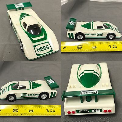 "VINTAGE ""HESS"" Friction 1/32 RACE CAR~ 1988~GOOD CONDITION Works Great."