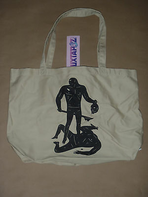 Cleon Peterson silk screen book bag tote not a poster Obey LA Art Book Fair