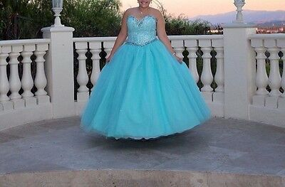 New Quinceanera Dresses Formal Prom Party Ball Gowns Color Wedding Dress Custom