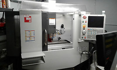 2014 Haas Cnc Mini Mill | Many Upgrades | Very Low Hours | Used For Hobby Only