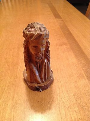 Vintage Religious Wooden Figure of Jesus 5""
