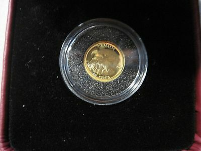 2013 Proof 50-Cent 'Bald Eagle' 1/25oz Gold Coin .9999 Fine