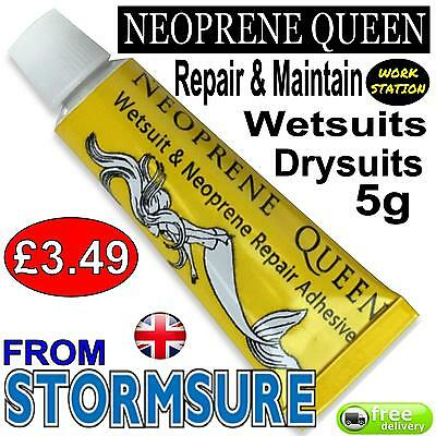 NEOPRENE QUEEN Scuba Diving Dry/ Wet Suit Repair Glue Adhesive Mend Rips Seals