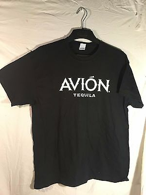 NEW**Avion Tequila basic Tee Shirt, Mens Large. Black, F. Mayweather , Entourage