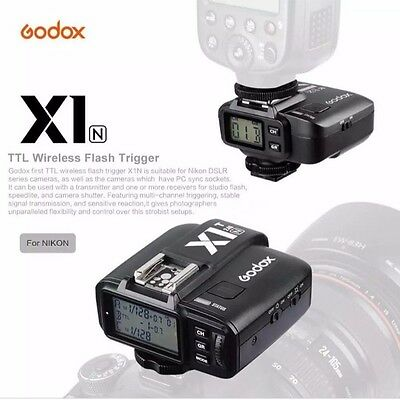 Godox 2.4GHz i-TTL Wireless Receiver X1N-R For Trigger Nikon Godox Flash Light