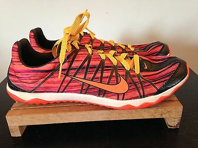 Men's Nike Zoom Rival XC Track & Field (605506-680) Spikes Shoes-Sz 9.5