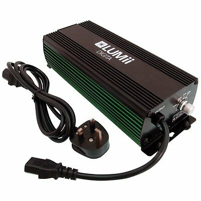 LUMii Digita 600W Dimmable 250 400 600W Ballast Hydroponic Lighting