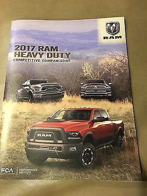 2017 DODGE RAM HEAVY DUTY Competitive Comparisons 58-pg Original Sales Brochure