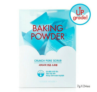 <Etude House> Upgrade Baking Powder Crunch Pore Scrub (7gx24ea) - Korea Cosmetic