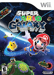 Super Mario Galaxy -- Nintendo Wii Game -- BRAND NEW & SEALED
