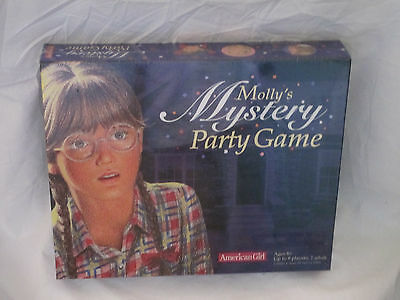 American Girl Molly's Mystery Party Game NIB Sealed