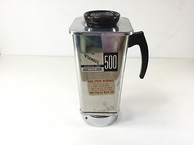 Vintage Vitamatic 500 Vita Mix Replacement Stainless Blender Pitcher With Lid