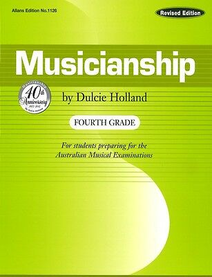 Musicianship Fourth Grade by Dulcie Holland - Music Theory Book