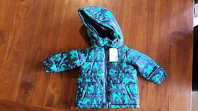 Target King of the Castle dragon   puffer jacket sz6-12mth BNWT free post E26