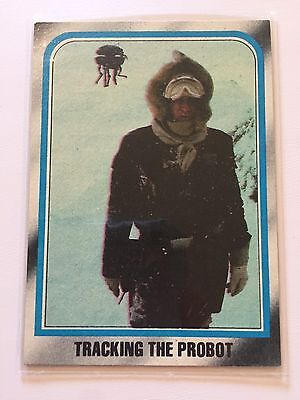 1980 Star Wars The Empire Strikes Back Lucasfilm Card #151 Tracking The Probot