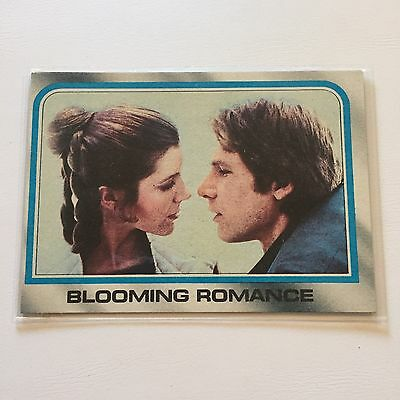 1980 Star Wars The Empire Strikes Back Lucasfilm Card #248 Blooming Romance