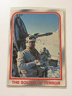 1980 Scanlens Star Wars The Empire Strikes Back Card #39 The Sound Of Terror