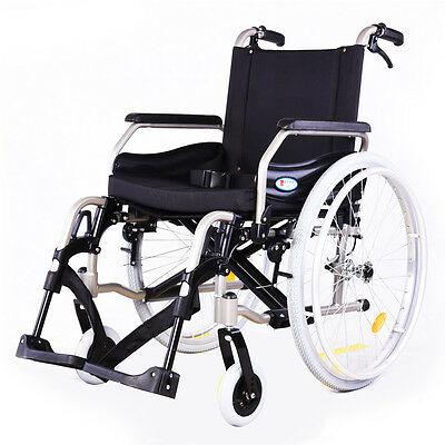 "24"" Tyres Quick Release Folding Wheelchair - Pneumatic and Solid Tyre"